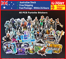 40 FORTNITE STICKERS PS4 XBOX PC Laptop Birthday Christmas Party Pack Loot Bag