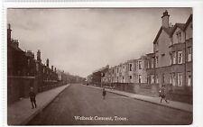 WELBECK CRESCENT, TROON: Ayrshire postcard (C10861)