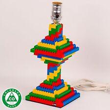 Handmade Spiral Multi-Color LEGO (R) Lamp