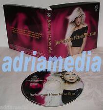 Jelena karleusa CD manijak album 2002 Remix Valentino folk Narodna Muzika SRBIJA