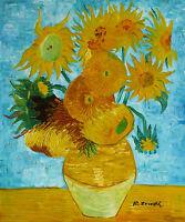 Gemälde - Blumenvase - handgemalt Leinwand Acryl Malerei modern Stillleben sign
