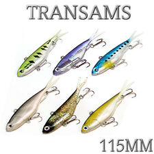 6x Mullet Transam Lures 115mm 30g Fishing Lure Soft Plastics Vibe Jacks Transams