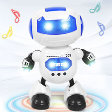 Toys For Girls Kids Light Music Smart Robot > 3 4 5 6 7 8 9 10 Years Cool Gifts