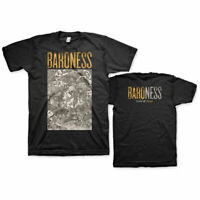 BARONESS Gold & Grey Mens T Shirt Unisex Tee Official Licensed Band Merch