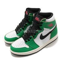 Nike Wmns Air Jordan 1 Retro High OG Lucky Green White Black Women DB4612-300