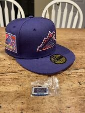Hat Club Exclusive! Daybreakers Purple Rockies 25th Ann. Patch 7-1/4- IN HAND!