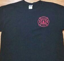 Firefighter t-shirt Backblaze (Large) Black Color - 100% Cotton
