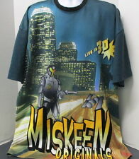 Miskeen Originals Live in 3D Polyester Shirt, 3XL, Great Color & Graphics