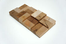 SAMPLE - Wall Cladding Wood Paneling 3D Vintage Solid Oak Birch End-grain Panel
