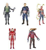 "Avengers Infinity War 12"" Titan Hero Black Widow, Captain America, Iron Man"