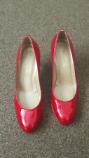 Stuart Weitzman for Russell & Bromley Red shine  Heeled size 5.5UK EU 38.5