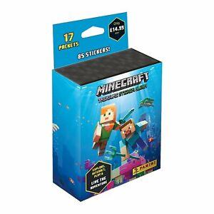 Panini Minecraft Treasure Sticker MultiSet 17 Packs Stickers