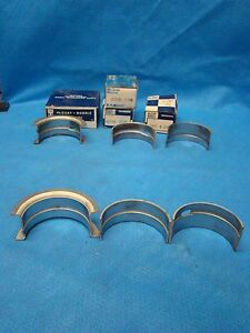 1961 - 1965 Nash Rambler Hudson AMC 172.6 184 195.6 Passenger Main Bearings 010