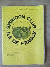 Magazine Spiridon Club Île de France N 14 Septembre Octobre 1984  - Collector