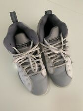Nike 2014 Air Jordan Grey And White Sneaker Tennis Shoes Youth Size 4
