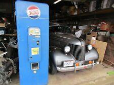 Original 1950'S Pepsi Machine/Vmc144/Diner/Corn er Store/Malt Shop/Sign