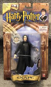 Professor Snape Harry Potter & The Sorcerer's Stone 2001 Action Figure NEW