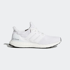 Adidas Ultraboost 4.0 White Running Shoes BB6168 - Size 10.5