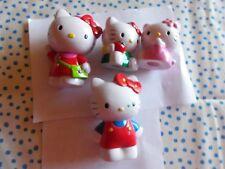 4 Hello Kitty Figuren