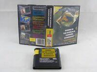 Where In The World Is Carmen Sandiego Mega Drive Sega No Manual PAL