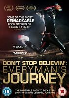 DON'T STOP BELIEVIN' Everyman's JOURNEY DVD in Inglese NEW .cp