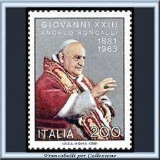 1981 Italia Repubblica Papa Giovanni XXIII n. 1581 **