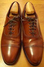Vintage, Hanover MasterFlex, Chili Brown, Leather, Cap-toe, Oxfords (Sz 10 D/B)