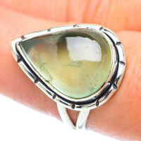 Prehnite 925 Sterling Silver Ring Size 8.25 Ana Co Jewelry R56059F
