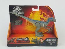 Jurassic World Dino Rivals Velociraptor Blue Savage Strike