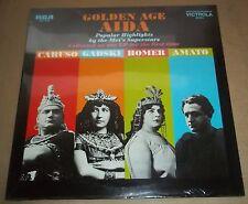 GOLDEN AGE AIDA Caruso/Gadski/Homer/Amato - RCA VIC-1623 SEALED