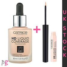 Catrice HD Liquid Coverage Foundation + Concealer 010 Light  Beige SET