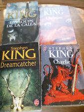 Lot 5 romans de Stephen KING, collection J'AI LU