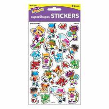 184 BlockStars School Reward Stickers - SuperShapes ideal for Teachers
