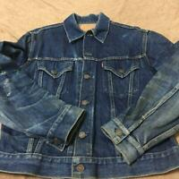 Vintage Levi's Big E Jeans Jacket 557XX 3rd Denim Size42 F/S from JAPAN