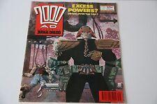 2000AD Prog 646 30 Sep 1989 Judge Dredd. Stored in plastic comic cover. GC