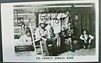 Charlie Daniels (d.2020) American C&W Singer Signed Autographed 5x8 Photo JSA