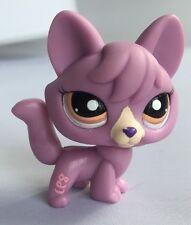 Littlest Pet Shop Lps púrpura Fox 5.5 cm 2007 Figura de juguete #1536