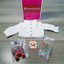 NEW American Girl Doll LANIE NATURE SET Jacket Binoculars Bird Book Ladybug Jar!