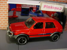 '90 VOLKSWAGEN GOLF COUNTRY☆red VW; 5sp☆2018 MATCHBOX loose