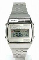 Orologio Seiko A-159-4000-G vintage watch all steel seiko 4000 clock crono montr