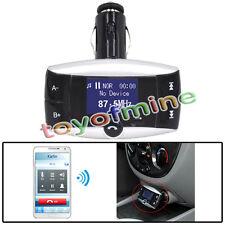 LCD Car Kit Bluetooth Lecteur MP3 Transmetteur FM Modulator SD MMC USB distance