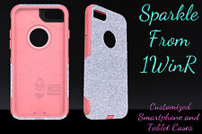 "Otterbox Commuter Series Custom Glitter Case for 4.7"" iPhone 7 Silver/Pink"