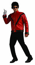 Mens Michael Jackson Deluxe Thriller Jacket  King of Pop Adult Size Medium