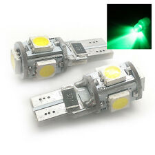 Apto Para Ford 2x XENON VERDE 5SMD LED Luz Lateral W5W T10 501 sjsl1013g