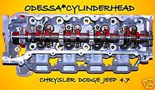 CHRYSLER DODGE JEEP CHEROKEE DAKOTA 4.7 SOHC CYLINDER HEAD PASSENGER SIDE RIGHT