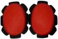 HARD PLASTIC KNEE SLIDERS PUCKS SLIDER RED NEW