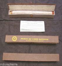 1 conf. Incenso tibetano bastoncini incensi contro l'Insonnia alla Camomilla Blu