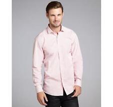 Scott James Rose&White Striped Cotton 'Dino' Button Front Shirt Size X-Large NWT