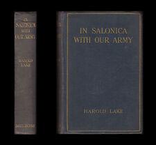 WWI 1917 Lake IN SALONICA WITH OUR ARMY Doiran MACEDONIA Monastir BALKANS Struma