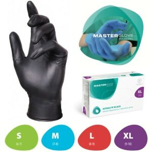 Strong Nitrile Disposable Gloves Powder Latex Free  Tattoo Valeting Medical!!